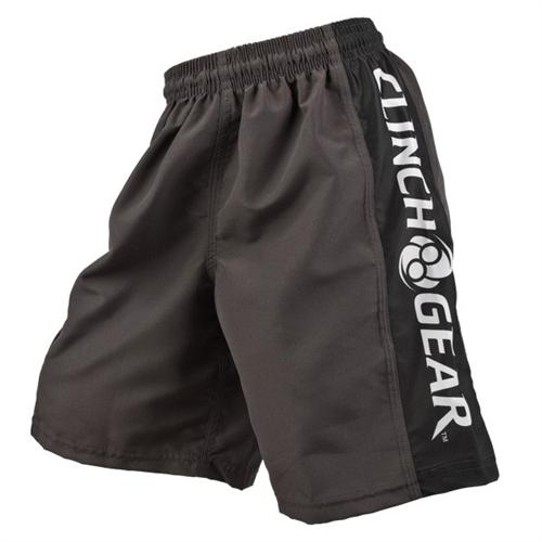 Clinch Gear Clinch Gear Youth Performance Shorts - Pewter